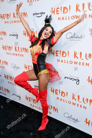 Editorial picture of Heidi Klum's 20th Annual Halloween Party presented by Amazon Prime Video and SVEDKA Vodka, Arrivals, Cathedral Restaurant at Moxy East Village Hotel, New York, USA - 31 Oct 2019