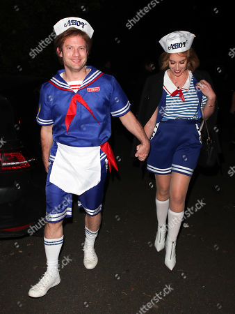 Stock Image of Dermot O'Leary and Dee Koppang