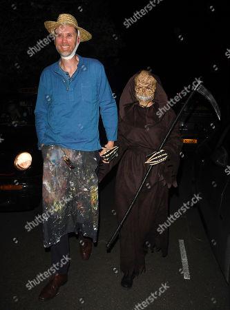 Stephen Merchant and Mircea Monroe