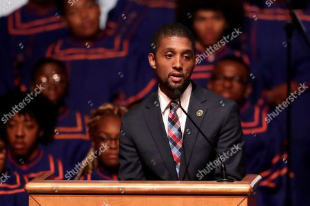 Editorial image of Cummings Funeral Services, Baltimore, USA - 23 Oct 2019