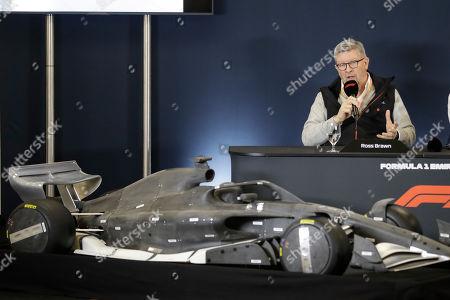 Editorial image of F1 US Grand Prix Auto Racing, Austin, USA - 31 Oct 2019