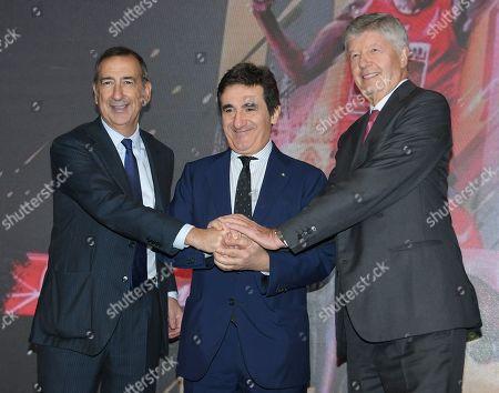 Editorial picture of Generali Milano Marathon press conference, Milan, Italy - 31 Oct 2019