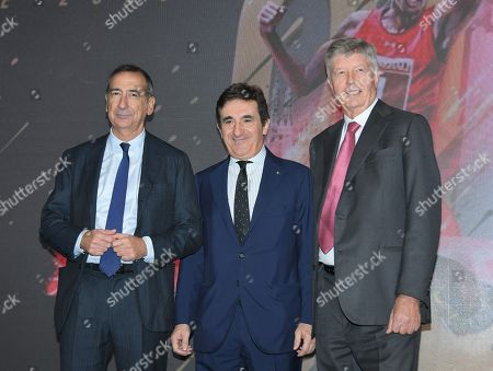 Editorial photo of Generali Milano Marathon press conference, Milan, Italy - 31 Oct 2019