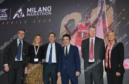 Editorial image of Generali Milano Marathon press conference, Milan, Italy - 31 Oct 2019
