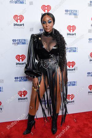 Editorial picture of iHeartRadio Fiesta Latina, Arrivals, American Airlines Arena, Miami, Florida, USA - 02 Nov 2019