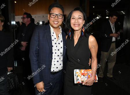 Nico Santos and Tan Kheng Hua