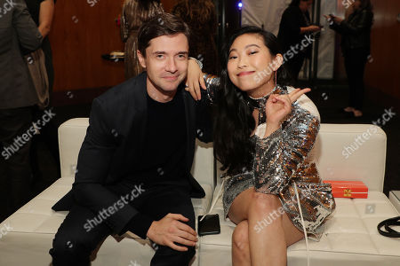 EXCLUSIVE - Topher Grace and Awkwafina