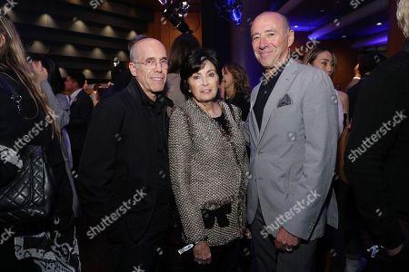 Stock Picture of EXCLUSIVE - Jeffrey Katzenberg, Marilyn Katzenberg and Bob Beitcher