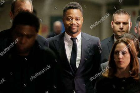 Stock Image of Cuba Gooding Jr. arrives to court in New York, . Gooding Jr. has pleaded not guilty to an indictment that includes allegations from a new accuser in his New York City sexual misconduct case. Prosecutors at Thursday's arraignment said they've also heard from several more women who could testify that the 51-year-old actor has had a habit of groping women over the years. Gooding's criminal case now includes allegations from three women