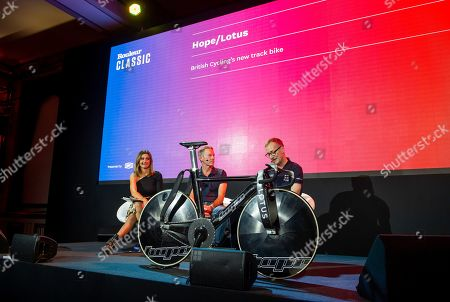 British Cycling's Performance Director Stephen Park with Head of Technical Development Tony Purnell talk about the new track bike developed by Hope Tech & Lotus.