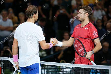 Editorial image of Rolex Paris Masters tennis, France - 31 Oct 2019