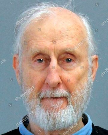 This photo provided by the Brazos County (Texas) Detention Center shows actor James Cromwell. Actor James Cromwell and Jeremy Beckham have been charged with disorderly conduct after police said they disrupted a meeting of the Texas A&M University System Board of Regents. (Brazos County