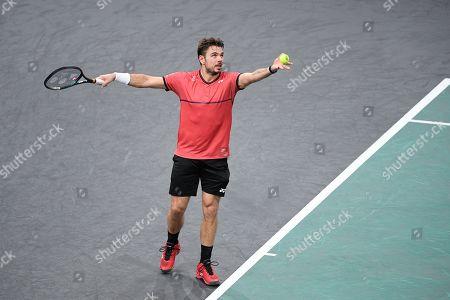Editorial photo of Rolex Paris Masters tennis, France - 31 Oct 2019