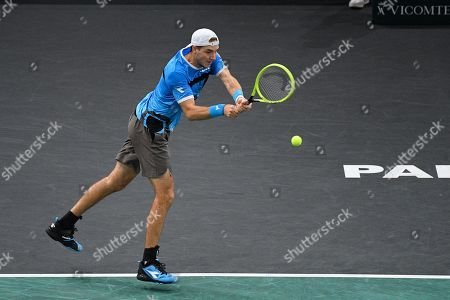 Editorial image of Rolex Paris Masters tennis, France - 31 Oct 2019