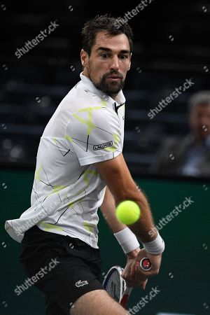 Jeremy Chardy (FRA) during his match