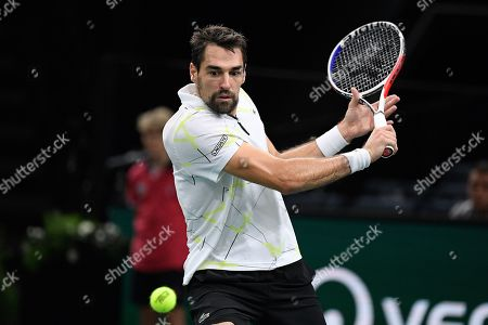 Editorial picture of Rolex Paris Masters tennis, France - 31 Oct 2019