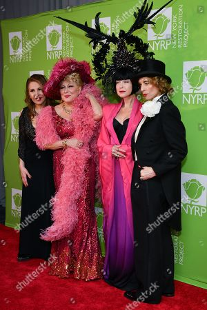 Kathy Najimy, Bette Midler, Cyndi Lauper and Judith Light