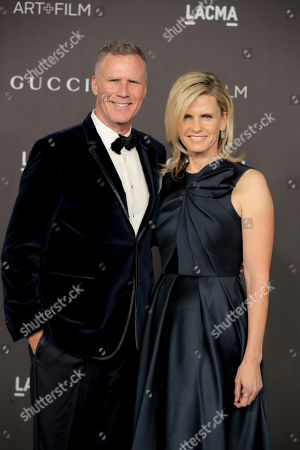 Stock Image of Will Ferrell and Viveca Paulin