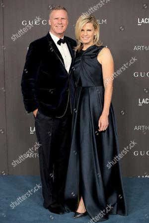 Stock Photo of Will Ferrell and Viveca Paulin