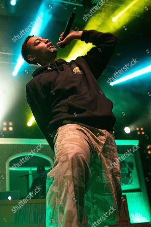 Editorial image of Loyle Carner in concert at o2 Academy, Newcastle, UK - 31 Oct 2019