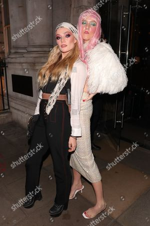Clara Paget and guest