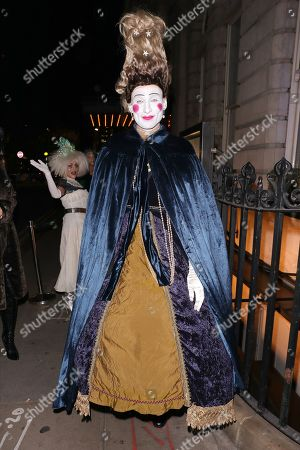 Editorial picture of Fran Cutler's Halloween party, The Berners Tavern, London, UK - 31 Oct 2019
