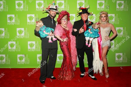 Bette Midler, Michael Kors and Jane Krakowski attend Bette Midler's annual Hulaween party to benefit the New York Restoration Project at New York Hilton Midtown, in New York