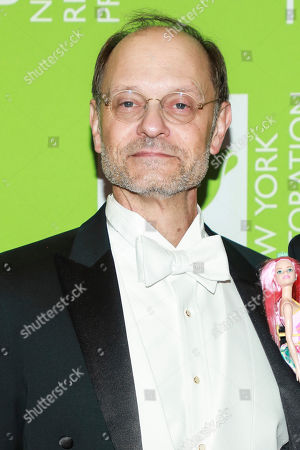 Stock Picture of David Hyde Pierce attend Bette Midler's annual Hulaween party to benefit the New York Restoration Project at New York Hilton Midtown, in New York