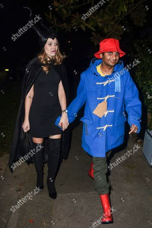 Editorial picture of Jonathan Ross Halloween party, London, UK - 31 Oct 2019
