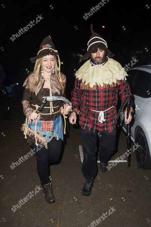 Stock Picture of Victoria Coren and David Mitchell