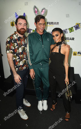 Stock Image of Joanna Chimonides, Bobby Cole Norris and Stephen Leng