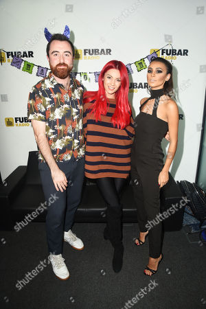 Joanna Chimonides, Stephen Leng and Dianne Buswell