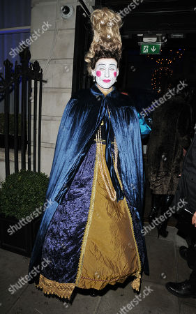 Editorial photo of The Fran Cutler's Halloween Party, Berners Tavern, London, UK - 31 Oct 2019