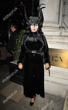 Editorial picture of The Fran Cutler's Halloween Party, Berners Tavern, London, UK - 31 Oct 2019