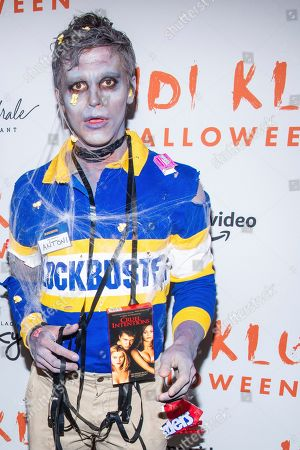 Antoni Porowski attends Heidi Klum's Halloween party at Cathedrale, in New York