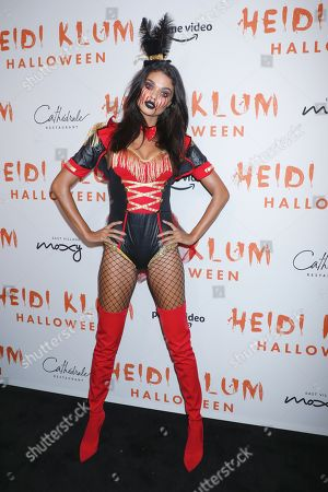 Editorial photo of Heidi Klum's 20th Annual Halloween Party presented by Amazon Prime Video and SVEDKA Vodka, Arrivals, Cathedral Restaurant at Moxy East Village Hotel, New York, USA - 31 Oct 2019