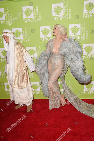 Editorial photo of Bette Midler's Hulaween Charity Gala 'Haunted Hollywood: The Golden Age' benefiting the New York Restoration Project, Arrivals, New York, USA - 31 Oct 2019