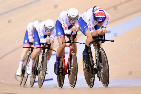 Editorial photo of Tissot UCI Track Cycling World Cup. Minsk, Belarus - 01 Nov 2019