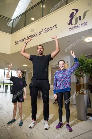 Editorial photo of Stirling Scottish Marathon photocall, Scotland, UK - 01 Nov 2019