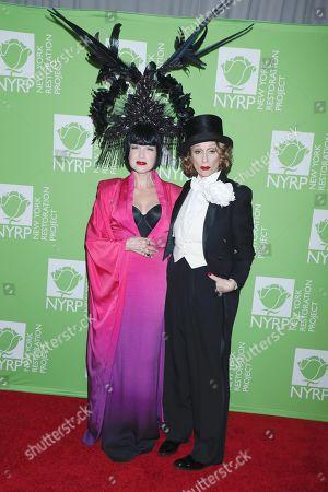 Cyndi Lauper and Judith Light