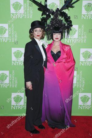 Judith Light and Cyndi Lauper
