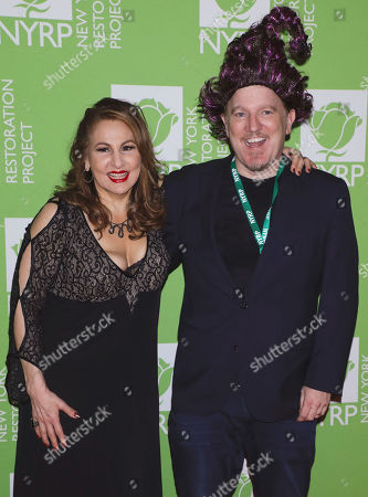 Kathy Najimy and Dan Finnerty