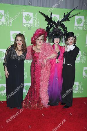 Kathy Najimy, Bette Midler, Cyndi Lauper, Judith Light