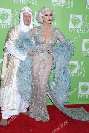 Stock Image of Michael Douglas and Catherine Zeta-Jones