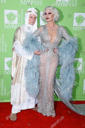 Stock Photo of Michael Douglas and Catherine Zeta-Jones