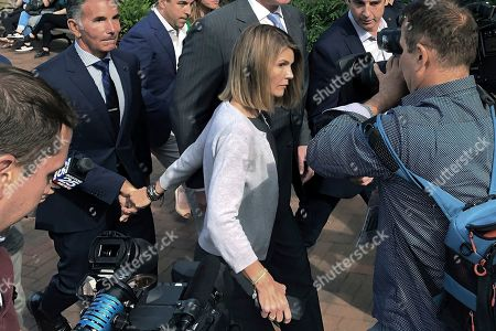 Editorial image of College Admissions Bribery, Boston, USA - 27 Aug 2019