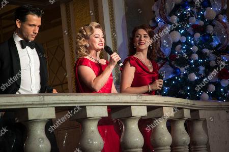 Editorial photo of 'White Christmas' play, Launch, London, UK - 01 Nov 2019
