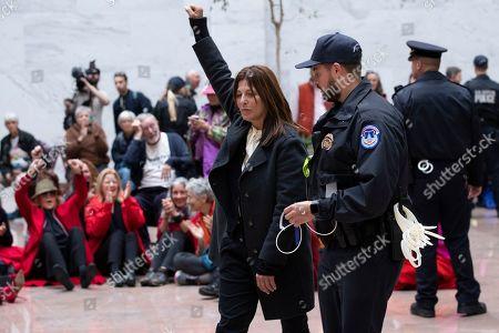 Editorial photo of Climate demonstrations led by US actress Jane Fonda on Capitol Hill, Washington, USA - 01 Nov 2019