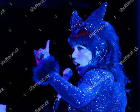 Editorial picture of Jenny Lewis in concert at Danforth Music Hall, Toronto, Canada