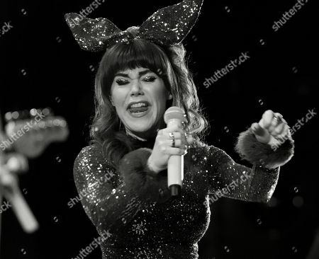 Editorial photo of Jenny Lewis in concert at Danforth Music Hall, Toronto, Canada